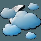 erősen felhős