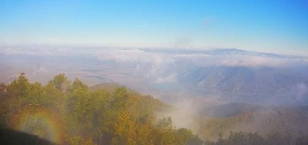 Glória tündökölt a Visegrádi-hegységben