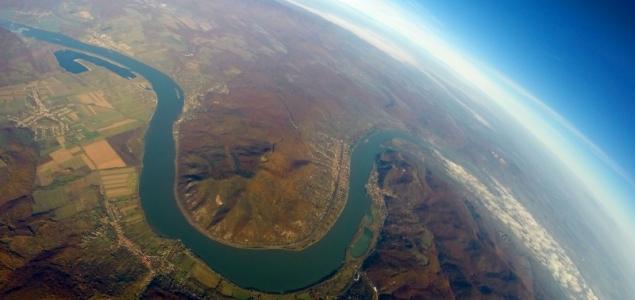 Az ősz színei a Dunakanyar felett