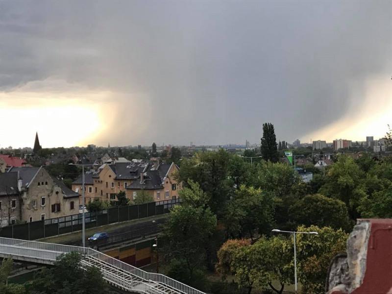 Fővárosi felhőszakadás