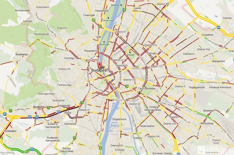 Budapest Forgalmi Térkép