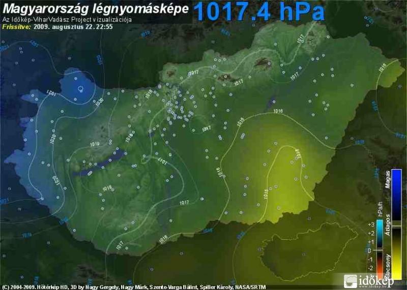 légnyomás térkép Légnyomás emelkedés   Időkép Képtár légnyomás térkép