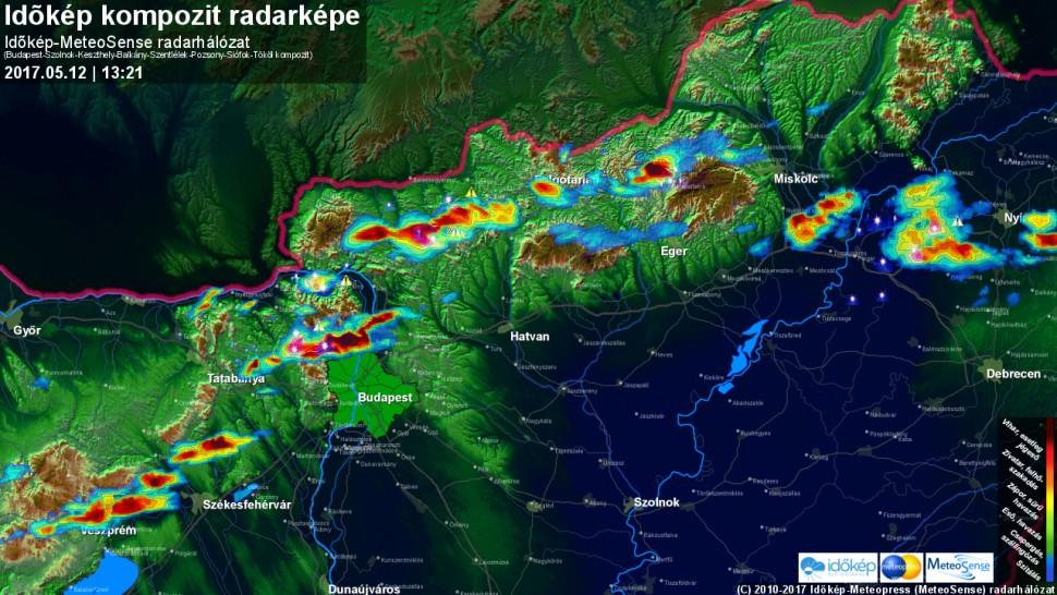 Időkép radar
