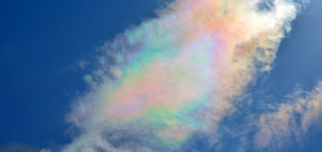 Színpompás felhők csütörtökről