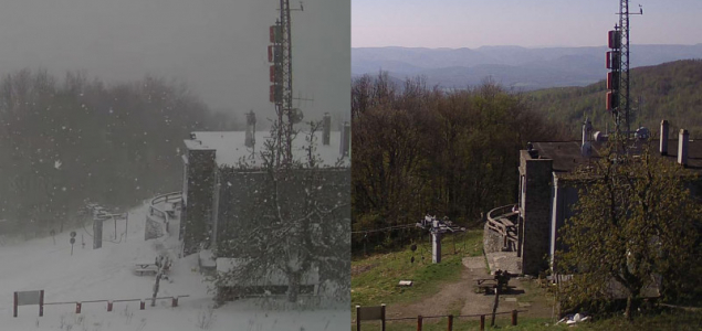 Két éve havazott ilyenkor
