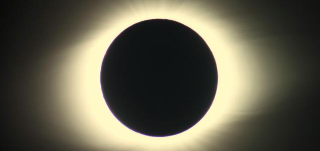 Teljes napfogyatkozás Chiléből