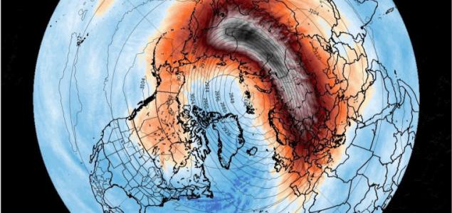 Hogy okoz kemény telet a sztratoszféra melegedése?