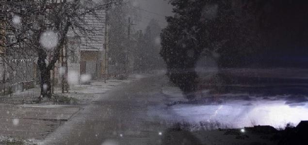 Hó és zivatar is jöhet kedden