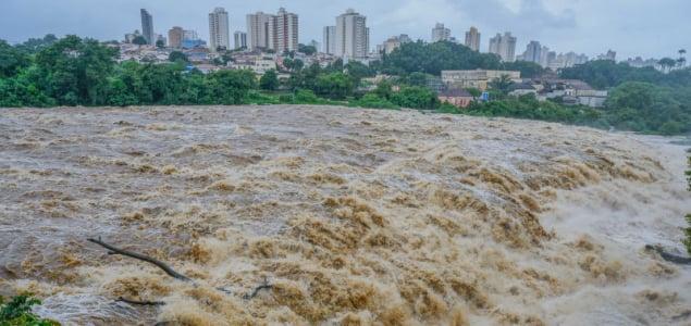 Árvizeket okoz Brazíliában a rekord mennyiségű eső