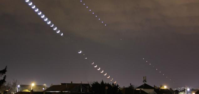 Látványos volt a Hold-Vénusz együttállás