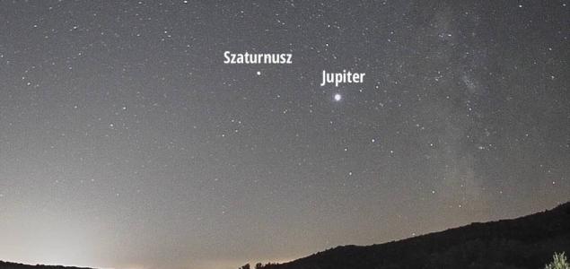 Látványos Jupiter-Szaturnusz együttállást hoz a téli napforduló