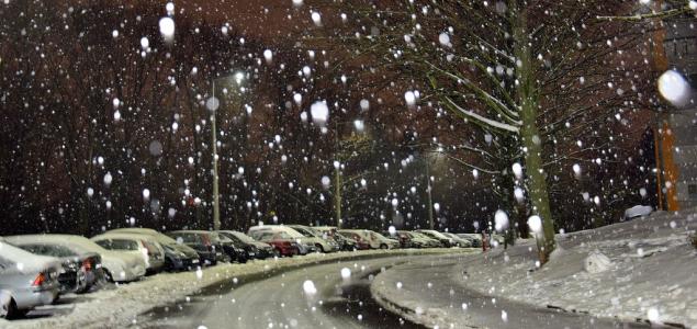Intenzív havazás jön vasárnap éjjel az ország déli és keleti felébe