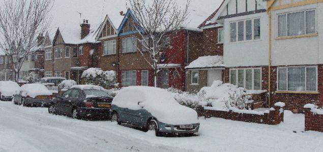 Több hó esett Londonban mint nálunk