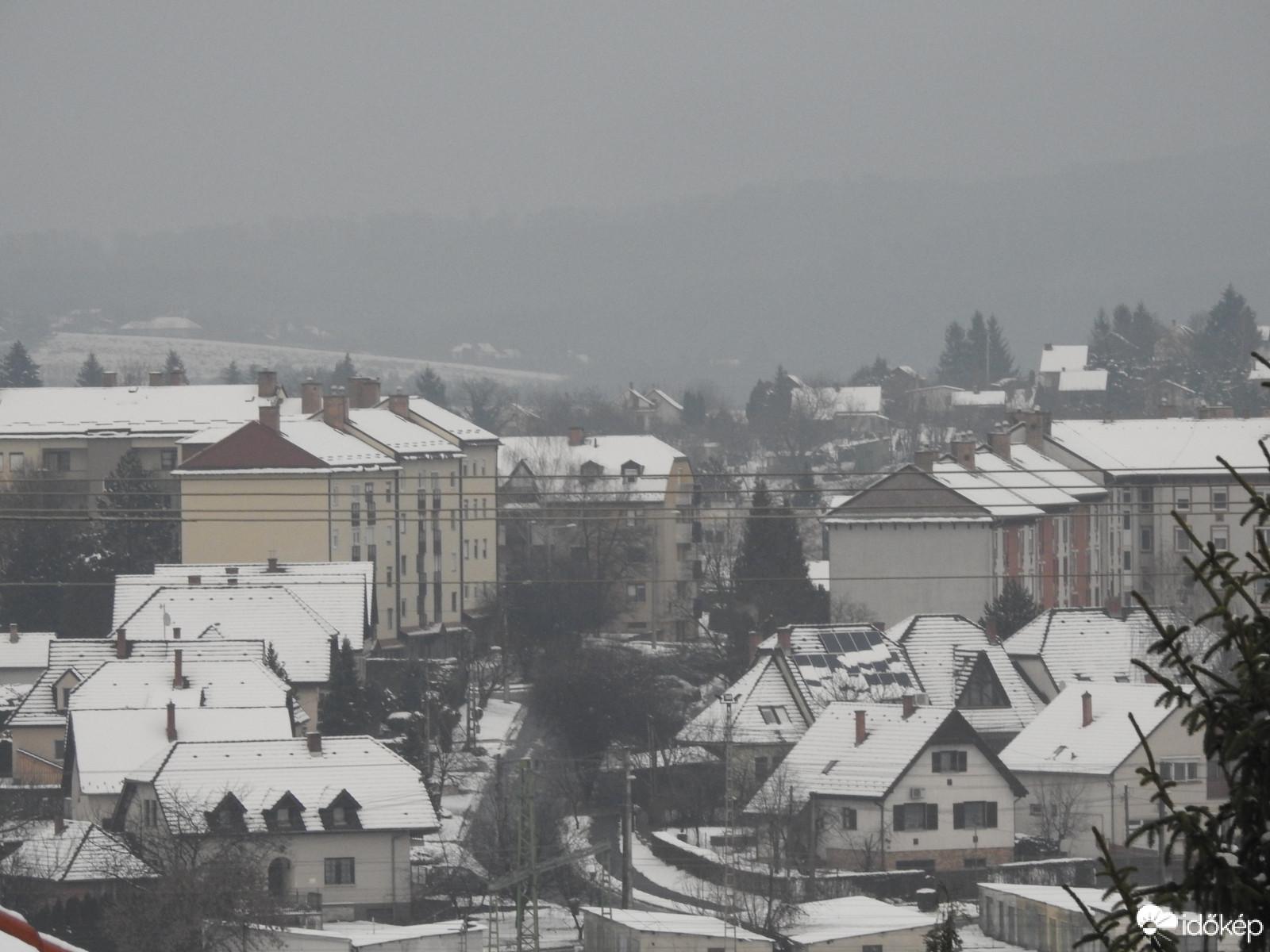 Délnyugaton tart legtovább a havazás