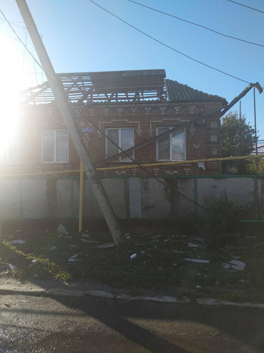 Tornádó pusztított Ukrajnában