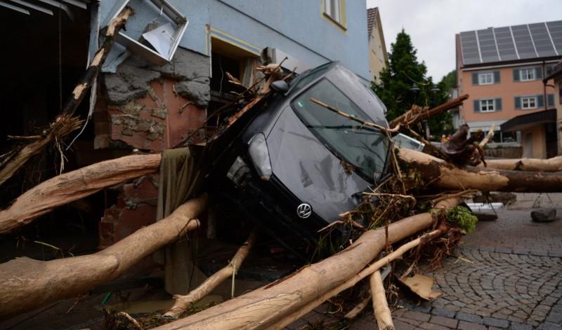Pusztító viharok Európában