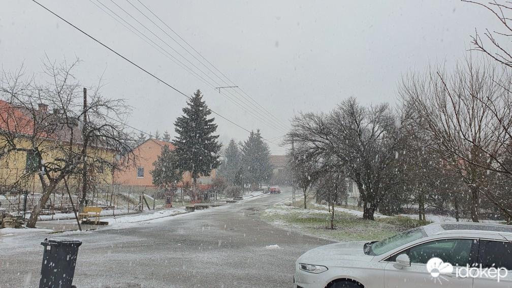 Újra havazott északon