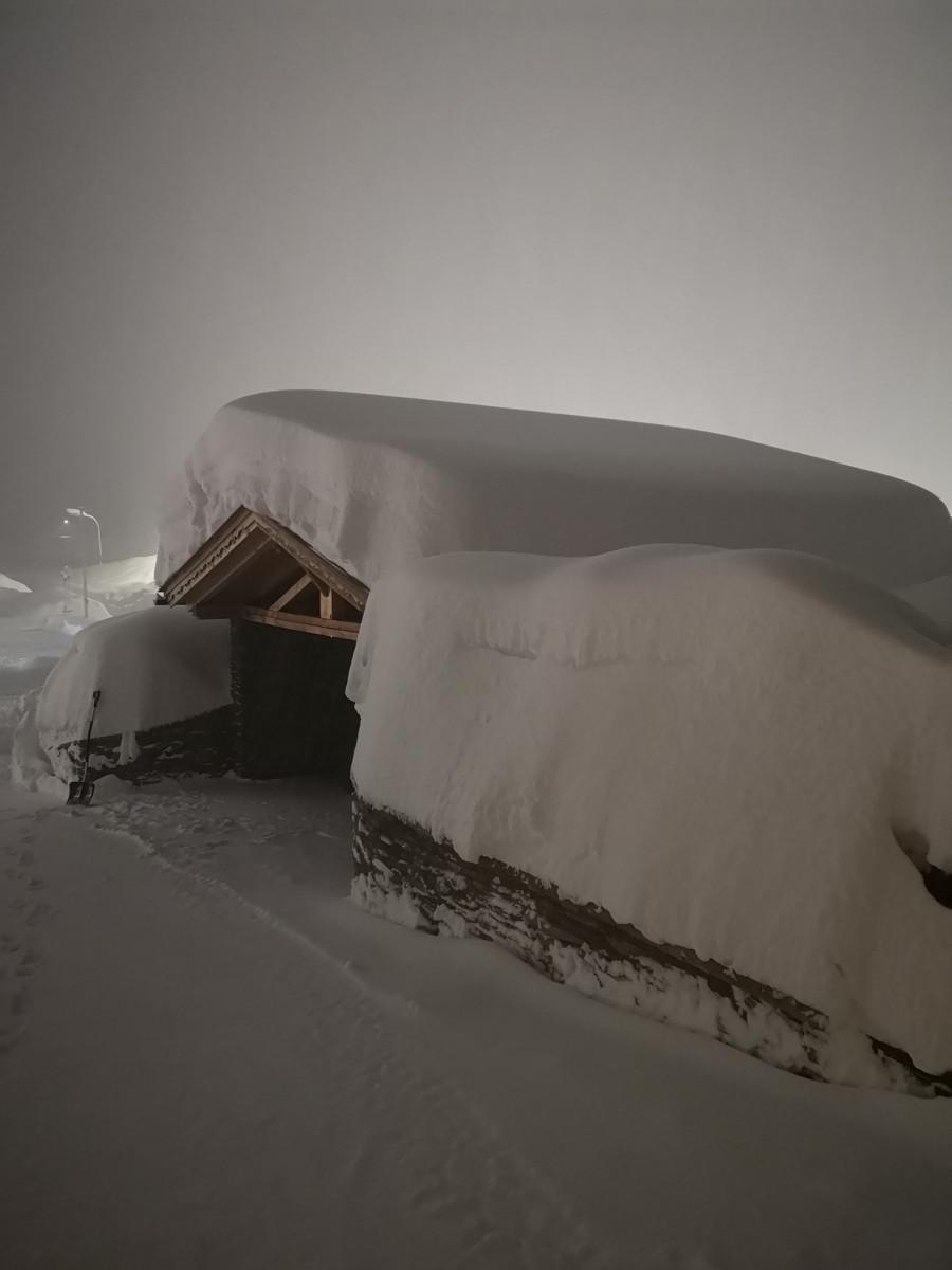 Hatalmas havazással kezdődött az év az Alpokban