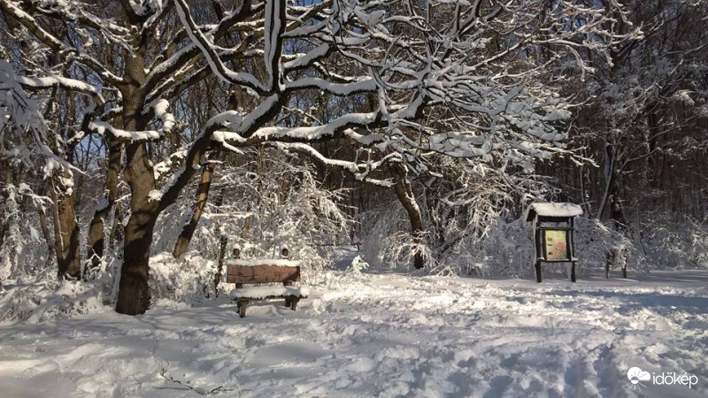 Kedd este újra havazhat