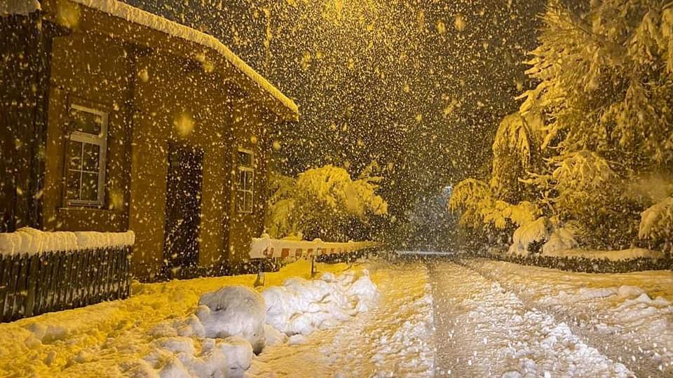 Egy csapásra tél lett az osztrák hegyekben